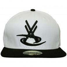 Casquette Snapback Vortex VX - VX Logo - White / Black