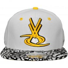 Casquette Snapback Vortex VX - Bred - White / Yellow
