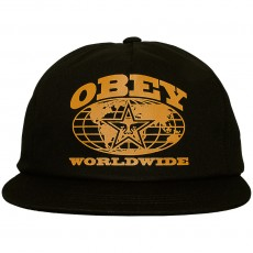Casquette Snapback Obey - Flushing Snapback - Black