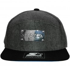 Casquette 6 Panel Hybrid Starter - Medal Of Honour Denim - Grey / Black