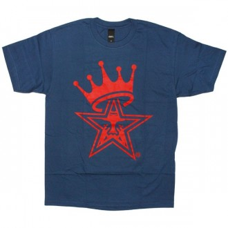 OBEY Basic T-shirt - Star Crown - Patrol Blue