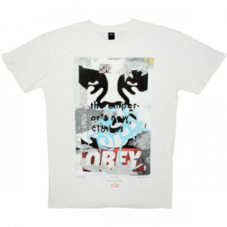 OBEY Limited Series T-shirt - Brooklyn01 - Light Grey