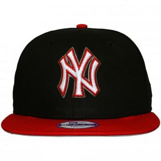 acheter authentique livraison gratuite incroyable sélection Casquette Snapback Enfant New Era - 9Fifty Youth MLB Primary Range - New  York Yankees - Black / Red