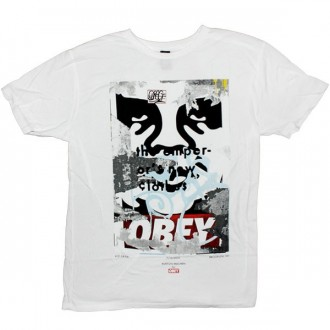 OBEY Limited Series T-shirt - Brooklyn01 - White