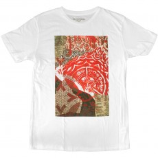 T-shirt Obey - Newpaper Collage - Thrift Tee - White
