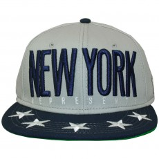 Casquette Snapback Cayler And Sons - NY City Cap - Grey / Deep Navy / White