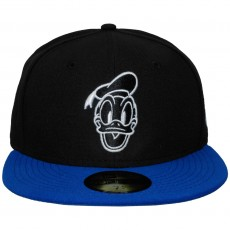 Casquette Fitted New Era x Disney - 59Fifty Basic Donald - Black / Blue