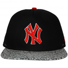 Casquette Strapback New Era - 9Fifty MLB Elephant Hook - New York Yankees - Black