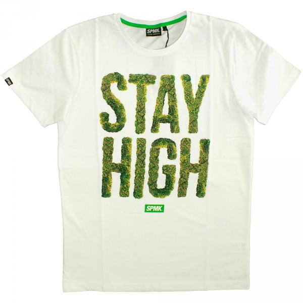 T shirt space monkeys high crew neck tee white for High crew neck t shirts
