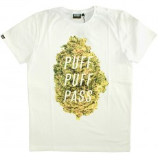 T-shirt Space Monkeys - Puff Crew Neck Tee - White