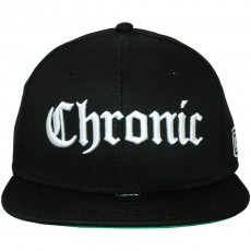 Casquette Snapback Space Monkeys - Chronic Snapback Cap - Black