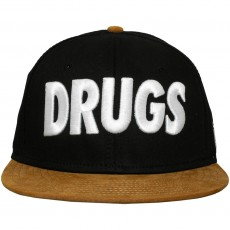 Casquette Strapback Space Monkeys - Drugs Snapback Cap - Black
