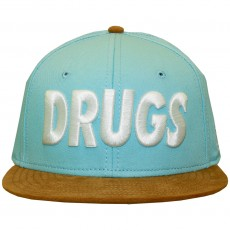 Casquette Strapback Space Monkeys - Drugs Snapback Cap - Blue
