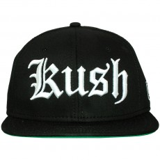 Casquette Snapback Space Monkeys - Kush Snapback Cap - Black