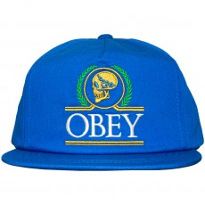 Casquette Snapback Obey - Emperors Snapback - Cobalt