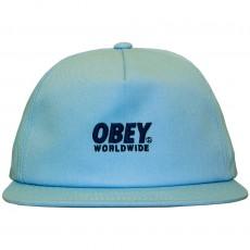 Casquette Snapback Obey - Portland Snapback - Light Blue