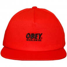 Casquette Snapback Obey - Portland Snapback - Red