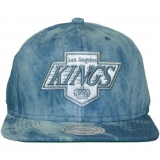 Casquette Snapback Mitchell & Ness - NHL Blue Dyed Denim - Los Angeles Kings - Blue