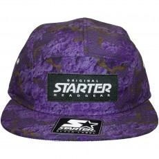 Casquette 5 Panel Starter - Astro Camo - Navy / Purple