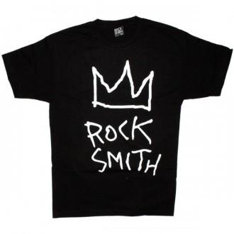 ROCKSMITH T-shirt - Crown Rock Tee - Black