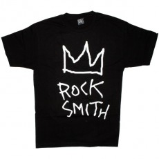 ROCKSMITH T-shirt - Crown Rock Tee - Black