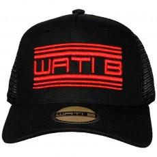 Casquette Trucker Wati B - Cont Truck - Black / Red