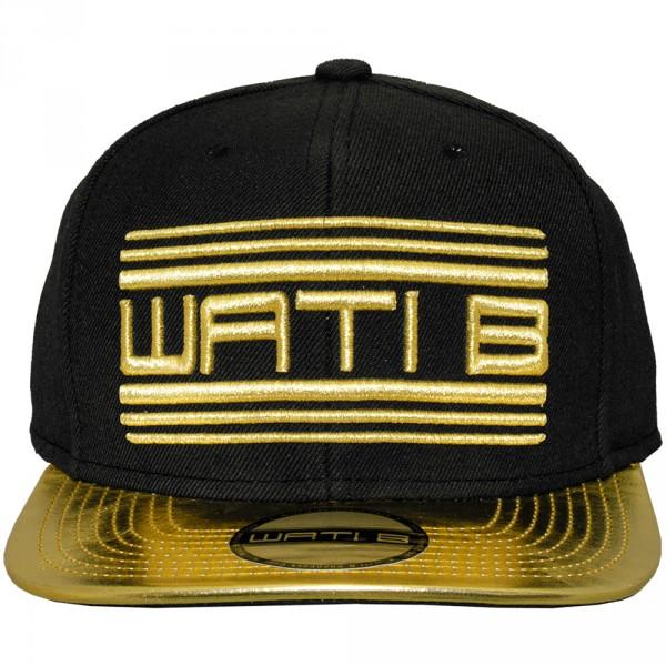 casquette snapback wati b metallic 2tone black gold. Black Bedroom Furniture Sets. Home Design Ideas
