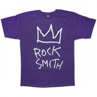 ROCKSMITH T-shirt - Crown Rock Tee - Purple
