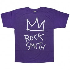 ROCKSMITH T-shirt - Crown Rock Tee - Purple