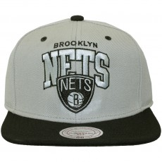 Casquette Snapback Mitchell And Ness - NBA Guard - Brooklyn Nets - Grey