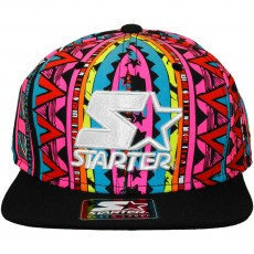 Casquette Snapback Starter - Biggy Crown 2Tone - Multicolor / Black