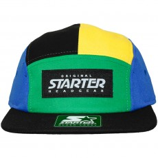 Casquette 5 Panel Starter - Paulo - Green / Black