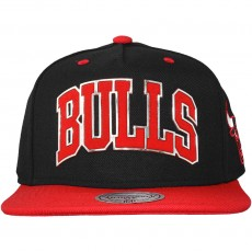 Casquette Snapback Mitchell And Ness - NBA Sonar Snapback - Chicago Bulls - Red