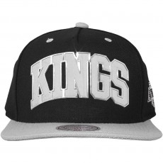 Casquette Snapback Mitchell And Ness - NHL Sonar Snapback - Los Angeles Kings - Black