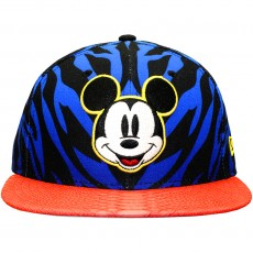 Casquette Strapback New Era x Disney - 9Fifty Jungle Mash Up - Mickey Mouse - Blue / Black / Pink Snake