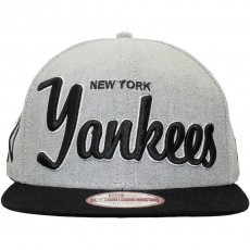 Casquette Snapback New Era - 9Fifty MLB Retroscholar 2 - New York Yankees - Black