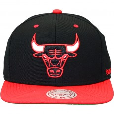 Casquette Snapback Mitchell And Ness - NBA Flipside - Chicago Bulls - Black