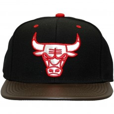 Casquette Snapback Mitchell And Ness - NBA Legacy - Chicago Bulls - Black