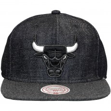 Casquette Snapback Mitchell And Ness - NBA Team Up - Chicago Bulls - Navy