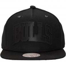 Casquette Strapback Mitchell And Ness - NBA Cement - Chicago Bulls - Black