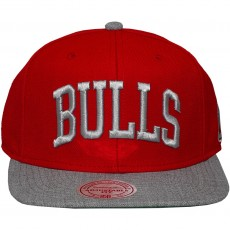 Casquette Snapback Mitchell And Ness - NBA TC Top - Chicago Bulls - Red