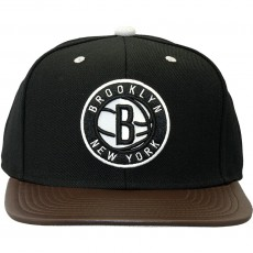 Casquette Snapback Mitchell And Ness - NBA Legacy - Brooklyn Nets - Black