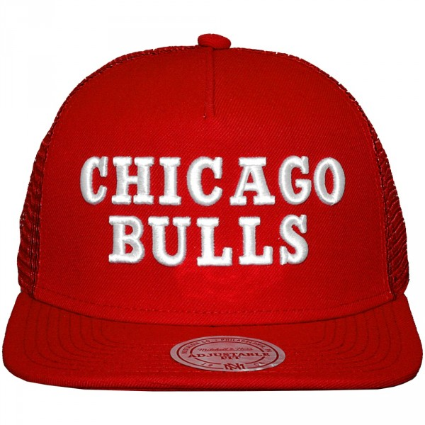 casquette trucker mitchell and ness nba court chicago. Black Bedroom Furniture Sets. Home Design Ideas