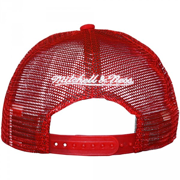 grossiste prix incroyable magasin Casquette Trucker Mitchell And Ness - NBA Court - Chicago Bulls - Red