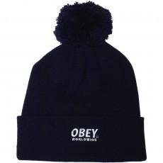 Bonnet Obey - Worldwide Pom Pom - Navy