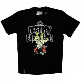 LRG T-shirt - Destroy Everything Tee - Black