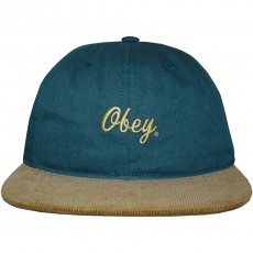 Casquette Strapback Obey - Edward Hat - Dark Denim