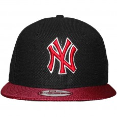 Casquette Snapback New Era - 9Fifty MLB Maxd Out - New York Yankees - Black / Scarlet