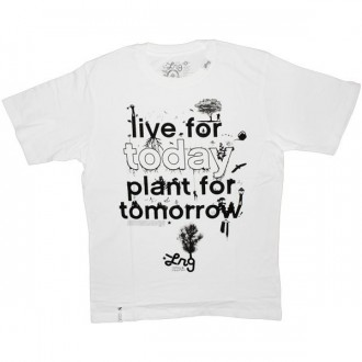 LRG T-shirt - Plant For Today Tee - White