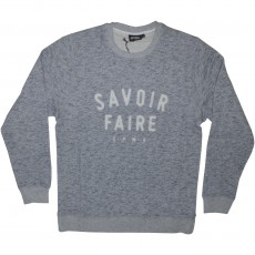 Sweat Shirt Space Monkeys - Savoir Faire - Mel Heather